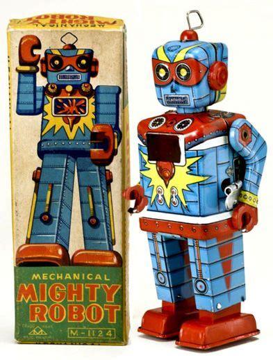 Tin Toys Classic Space Robot retro antique toys antique appraisals japanese