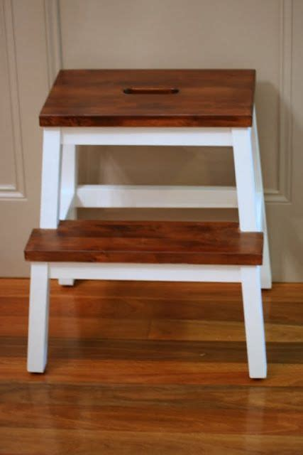 freckles chick spruced up step stool ikea bekvam 12 best ikea step images on pinterest step stools