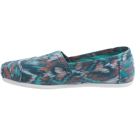 toms canvas ikat shoes for