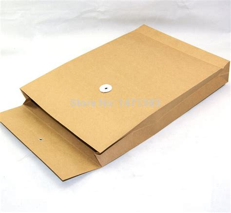 Paper Envelope - a4 size kraft paper envelope with string for documents
