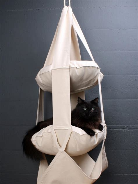 hanging cat bed the best cat condos beds and shelves diy