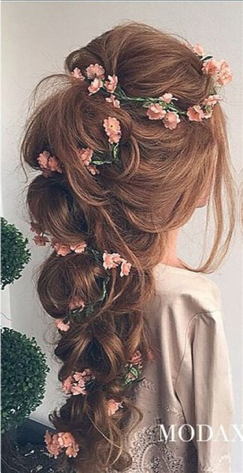 Wedding Hair Braid With Flowers by 45 Photos Of Bridal Hair Styles Hubpages