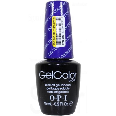 Opi Do You This Color In Stock Holm opi gel color do you this color in stock holm by