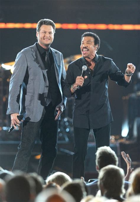 lionel richie e blake shelton lionel richie and blake shelton photos photos 47th