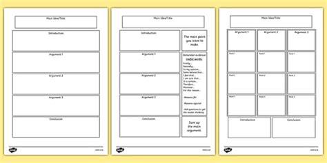 persuasive writing template persuasive writing template