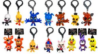 Image here s all of ucc s fnaf merchandise minus the sanshee plushies