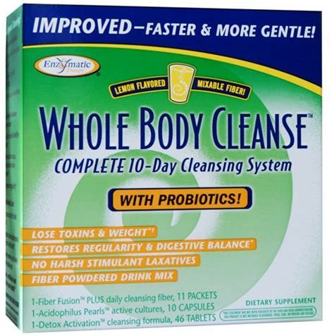 Best Whole Cleanse And Detox by Whole Cleanse With Drinkable Fiber Enzymatic Therapy