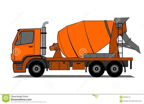 Cement Truck Stock Photos   Image: 32335773