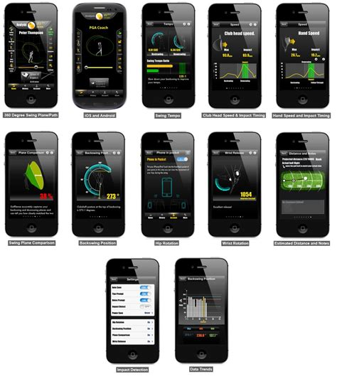 zepp golfsense 3d golf swing analyzer zepp golfsense 3d sensor golf swing trainer analyzer for
