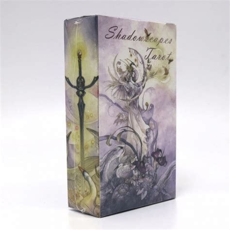 shadowscapes tarot 78 card shadowscapes tarot cards game 78 cards deck raindrop water proof tarot board gaming toy for