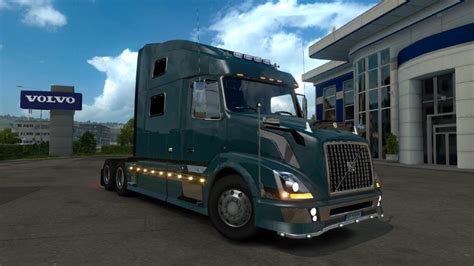 volvo truck vnl 780 volvo vnl 780 reworked 1 21 x truck truck simulator
