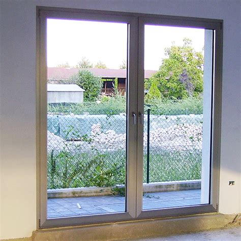 porta finestra porta finestra in alluminio a due ante autonome finestre