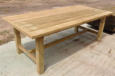 garden tables uk hailey wood sawmill garden furniture