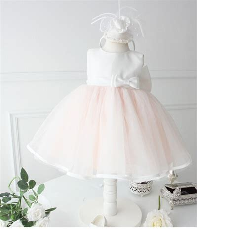 White Flower Dress Excellent Quality aliexpress buy high quality dress pink lace white bow wedding flower