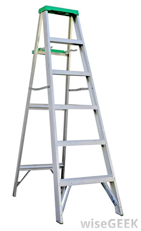 what are the different types of industrial ladders