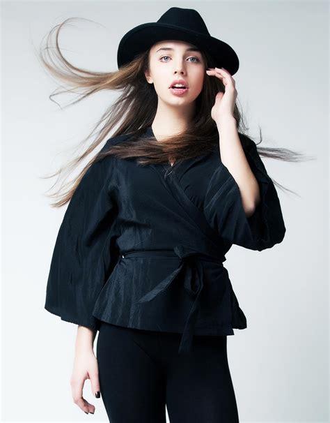 Hitam Black Model Kimono lack kimono jacket kloe