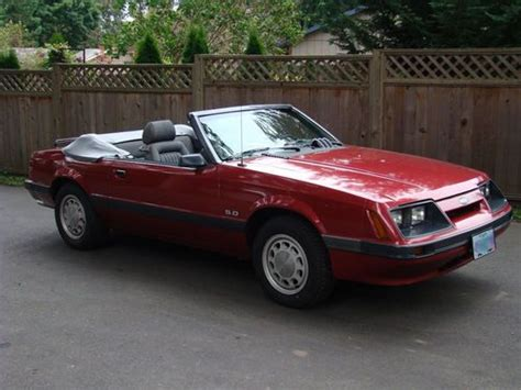 how do i learn about cars 1985 ford ranger security system buy used 1985 ford mustang lx convertible with 5 0 302 in portland oregon united states for