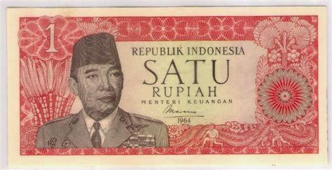 uang kuno seri soekarno tahun 1960 dan 1964 borneo