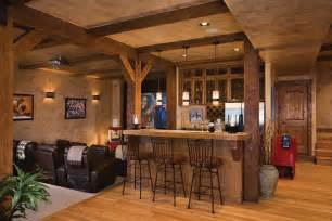 Basement Homes by The Log Home Floor Plan Blogtimber Frame Homes