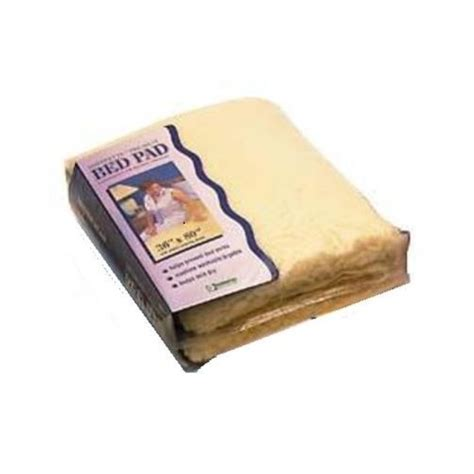 sheepskin bed pad essential medical sheepette synthetic sheepskin bed pad