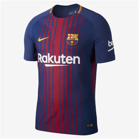 barcelona uniform barcelona 17 18 nike home kit 17 18 kits football