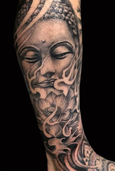 geometric tattoo artist sydney buddha tattoo by kade mack tattoo artist at kaleidoscope