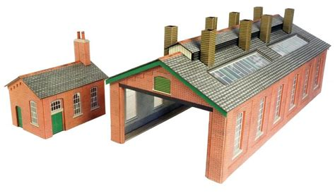 N Engine Shed by 00 Railway Kits 00 H0 Engine Shed