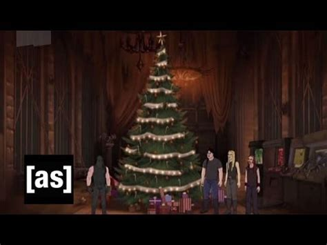 the christmas tree metalocalypse adult swim youtube