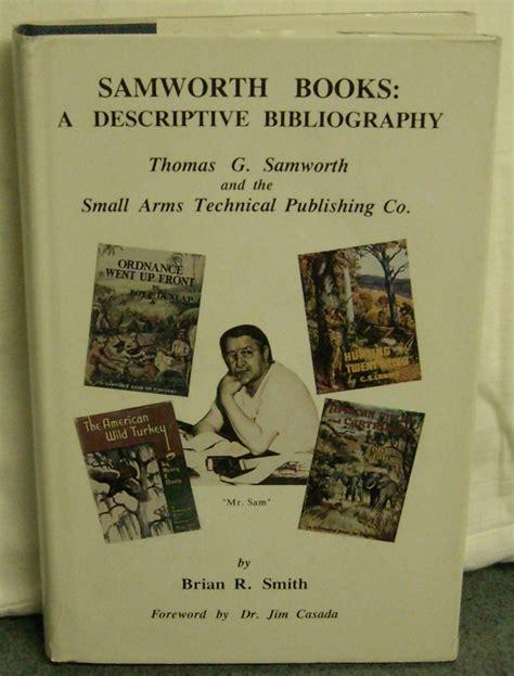 descriptive picture books samworth books a descriptive biography signed by brian r