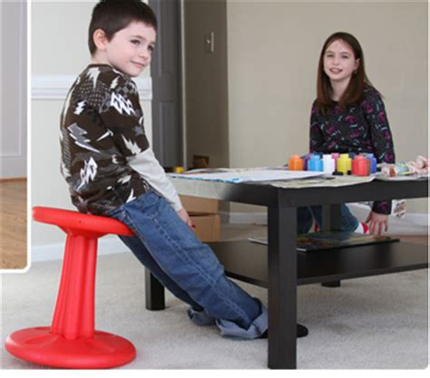 kids kore wobble chair control fidgeting amp hyperactivity increase core strength special