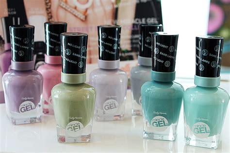 gel nail light sally s sally hansen miracle gel hybrid gel needs no l