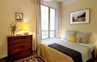 Light Yellow Bedroom Rent A Parisian Apartment Rue De Villersexel Parisian Flat