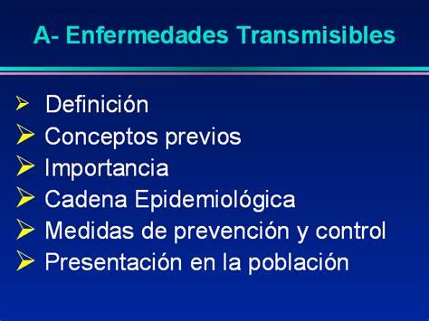 cadena epidemiologica vias de transmision enfermedades transmisibles estudio de brote monografias