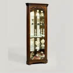 Corner Curio Cabinet Pulaski Corner Curio Cabinet 21313