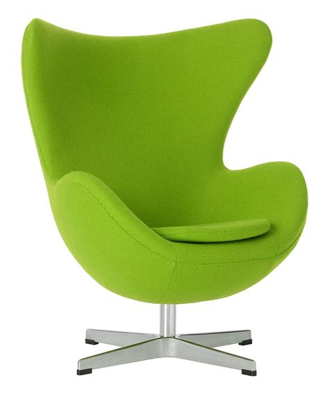 Green Chair by Lime Green Yolk Chair