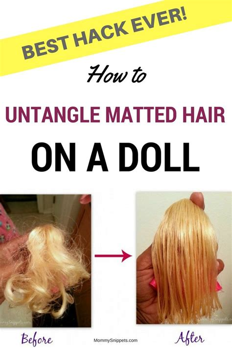 Fix Matted Hair by 17 Best Ideas About Matted Hair On Detangle
