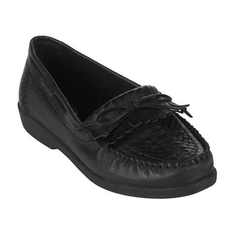 Flat Shoes Artikel Va11 basic editions s eloise leather moccasin wide width black