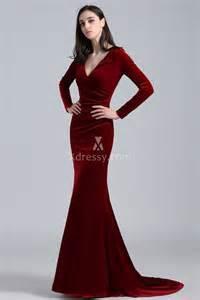 khlo 233 kardashian burgundy velvet long sleeve deep v neck