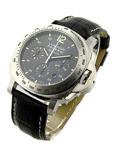 Panerai Daylight 3chrono Black pam 00250 panerai chronograph 44mm daylight models essential watches
