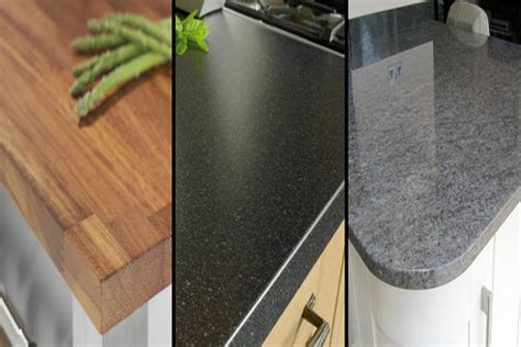 Kitchen Worktop Materials What Is The Best Kitchen Worktop