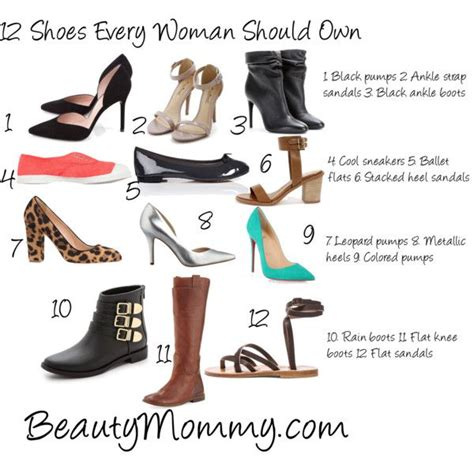 shoes every should 12 shoes every should own 30 days to gorgeous
