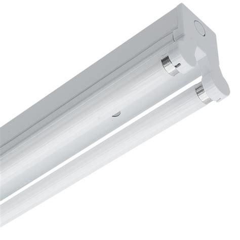 4ft double fluorescent light fittings twin 2 x 36w t8 fluorescent batten fitting 4ft qvs direct