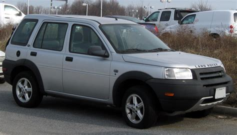 land rover freelander 1999 2003 land rover freelander 1 8 related infomation