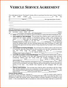 Template Service Agreement agreement templates