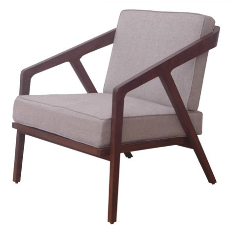 Buy Dark Wood Retro Low Slung Armchair Libra Wooden