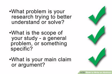 how do you write an abstract for a paper how do you write an abstract for a research report