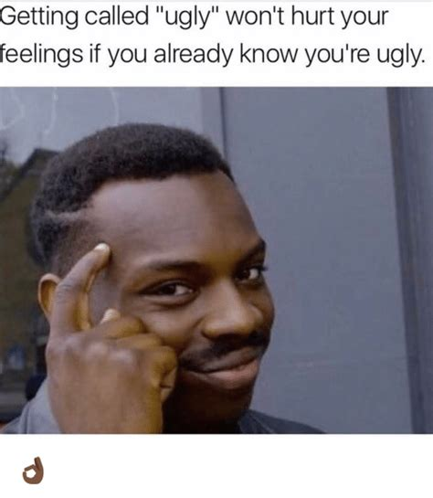 Know Youre Meme - getting called ugly won t hurt your feelings if you