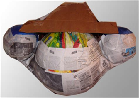 How To Make A Paper Mache Nose - a nose