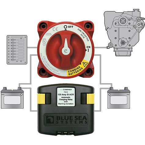 tige boat battery switch blue sea systems quot add a battery quot dual circuit system