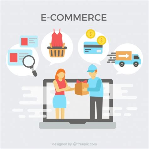 e commerce images e commerce icons and delivery vector free